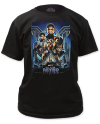 Image for Black Panther T-Shirt - Poster