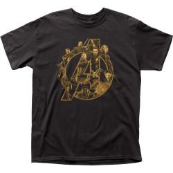 Image for Marvel's Avengers: Infinity War T-Shirt - Logo