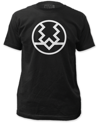 Image for The Inhumans T-Shirt - Black Bolt Logo