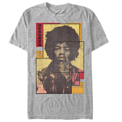 Image for Jimi Hendrix Collaged T-Shirt