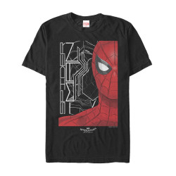 Image for Spider-Man Homecoming Black and White T-Shirt