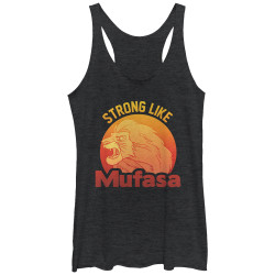 Image for The Lion King Womens Tank Top - Strong Mufasa