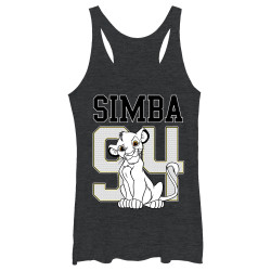 Image for The Lion King Womens Tank Top - Simba 94