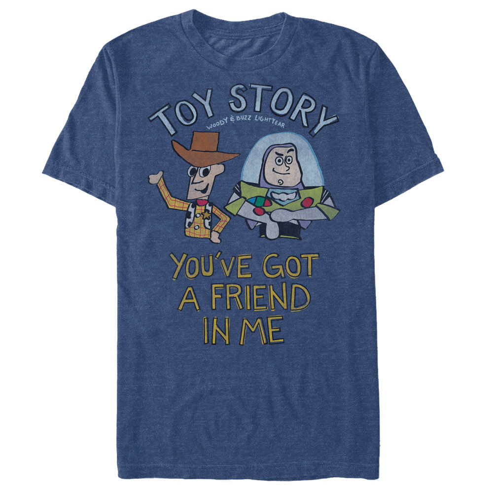 Toy Story You Ve Got A Friend In Me T Shirt Nerdkungfu