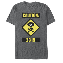 Image for Monsters U Caution T-Shirt