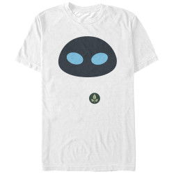 Image for Wall E Eve Face T-Shirt