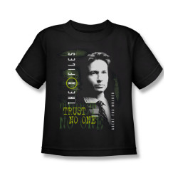 Image for X-Files Kids T-Shirt - Fox Mulder
