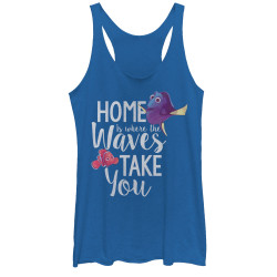 Image for Finding Dory Womens Heather Tank Top - Home