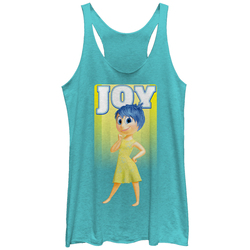 Image for Inside Out Womens Heather Tank Top - Joy
