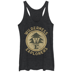 Image for Up Womens Heather Tank Top - Explorers