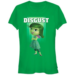 Image for Inside Out Juniors T-Shirt - Disgust