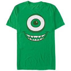 Image for Monsters Inc Premium T-Shirt - Mike Face