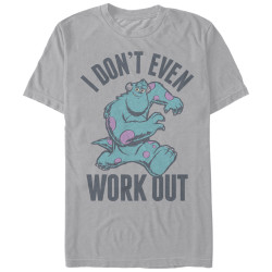 Image for Monsters Inc Premium T-Shirt - Even Workout