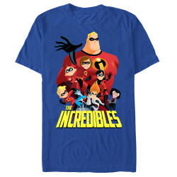 Image for  The Incredibles Premium T-Shirt - All of Them