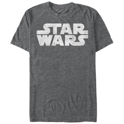 Image for Star Wars the Simplest Logo Heather T-Shirt