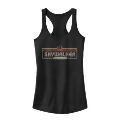 Image for Star Wars Womens Tank Top - Skywalker plate