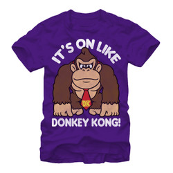 Image for Donkey Kong Fist Pump Premium T-Shirt