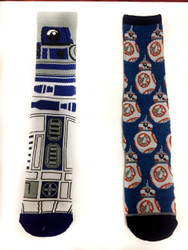 Image for Star Wars R2D2 and BB8 Socks