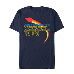 Image for Solo: A Star Wars Story Kessel Run Navy Heather T-Shirt
