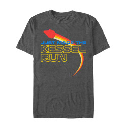 Image for Solo: A Star Wars Story Kessel Run Heather T-Shirt