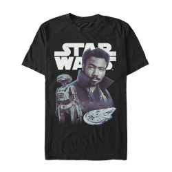 Image for Solo: A Star Wars Story T-Shirt - Lando Pals
