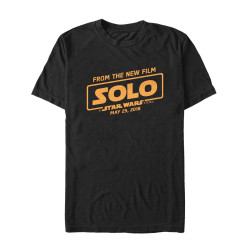 Image for Solo: A Star Wars Story T-Shirt - Only Date