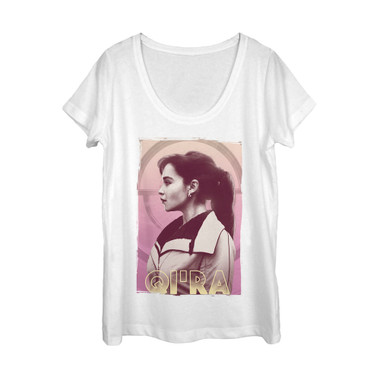 Image for Solo: A Star Wars Story Juniors Scoop Neck Heather Shirt - Qi'ra
