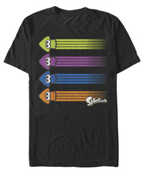 Image for Nintendo Splatoon Ink Streak T-Shirt