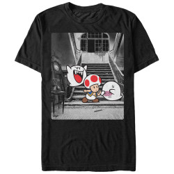 Image for Mario Bros. Haunted T-Shirt