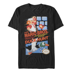 Image for Mario Bros. Mario Duck Hunt T-Shirt
