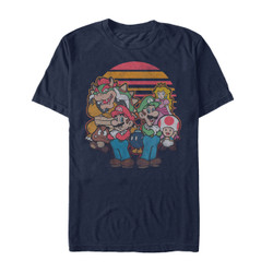 Image for Mario Bros. Mario and Friends T-Shirt