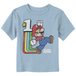 Image for Mario Bros Toddler T-Shirt - Old School Cool