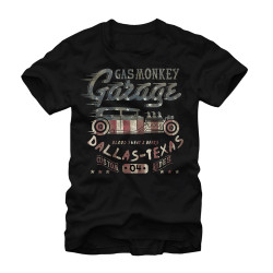 Image for Gas Monkey Garage Flag T-Shirt