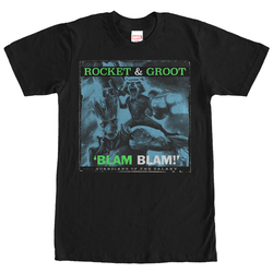 Image for Guardians of the Galaxy Rocket & Groot Blam Blam T-Shirt