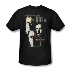 Image for X-Files T-Shirt - The Lone Gunmen