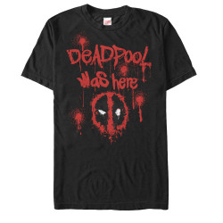 Image for Deadpool Tag Line T-Shirt