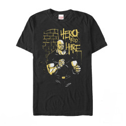 Image for Luke Cage Hero For Hire T-Shirt