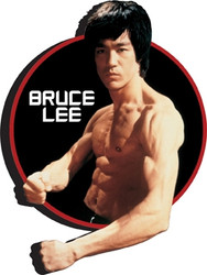 Image for Bruce Lee Circle Magnet