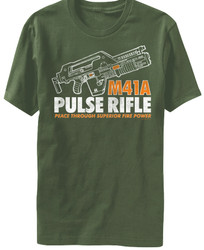 Image for Alien T-Shirt - M41A Pulse Rifle