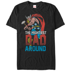 Image for Thor Mightiest Dad Premium T-Shirt