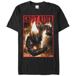 Image for Ghost Rider Flame Premium T-Shirt
