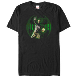 Image for Iron Fist Glowing Premium T-Shirt