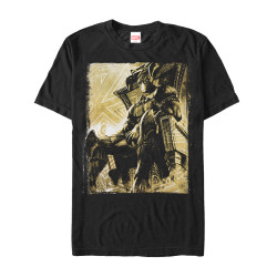 Image for Black Panther Throne Room Premium T-Shirt