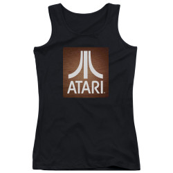 Image for Atari Girls Tank Top - Classic Wood Square