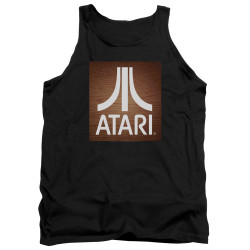 Image for Atari Tank Top - Classic Wood Square