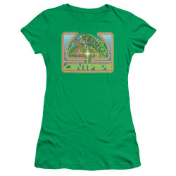 Image for Atari Girls T-Shirt - Centipede Green