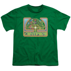Image for Atari Youth T-Shirt - Centipede Green