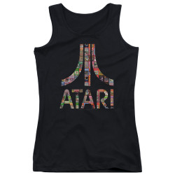 Image for Atari Girls Tank Top - Box Art