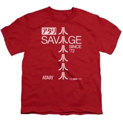 Image for Atari Youth T-Shirt - Savage 72