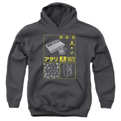 Image for Atari Youth Hoodie - Kanjii Squares